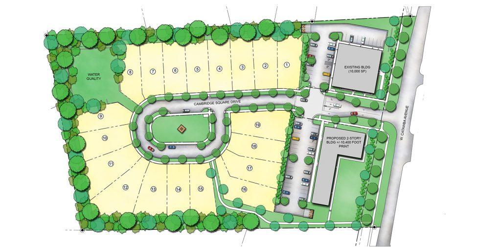Cambridge-Square-Homes-Cornelius-North-Carolina-Site-Map